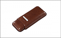 Prometheus Cigar Case 2 Robusto Brown