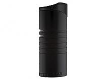 XIKAR Ellipse III Triple Flame Lighter Black