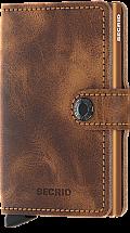 Secrid Mini Wallet Vintage Cognac Rust