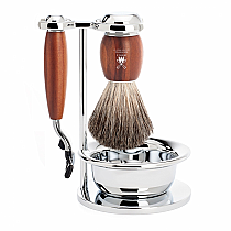 Muhle Shave Set M3 Plum Wood