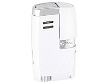 Xikar Vitara Lighter Double Torch White