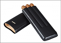 Cigar case 3 churchill black