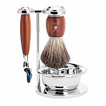 Muhle VIVO Shave Set Fusion Plum Wood