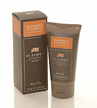 St. James of London Mandarin & Patchouli Shave Travel Tube