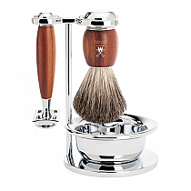 Muhle VIVO Shave Set Safety Razor Plum