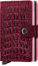 Secrid Mini Wallet Nile Red