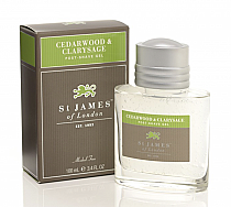 St. James of London Cedarwood & Clarysage Post Shave Gel