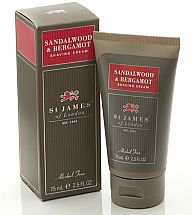 St. James of London Sandalwood & Bergamot Shave Travel Tube
