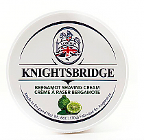 Knightsbridge Shave Cream Bergamot 170g