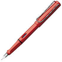 Lamy Fountain Pen Safari Red