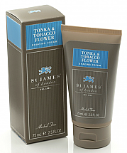St. James of London Tonka & Tobacco Flower Shave Travel Tube