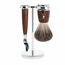 Muhle RYTMO Shave Set Fusion Ash Wood