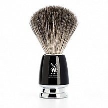 Shave brush badger black