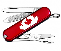 Swiss Army Victorinox Classic Red Canadian Flag