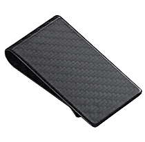 Visol Black Carbon Fiber Money Clip