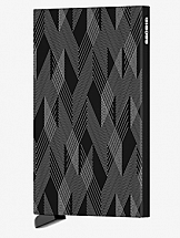 Secrid Card Protector Laser Zigzag Black