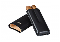 Prometheus Cigar Case 2 Robusto Black