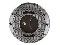 Xikar XO Double Guillotine Cutter Gunmetal Honeycomb