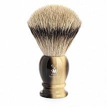 "Shave Brush Silvertip XL. Brown  25mm / 0.98""  Resin"