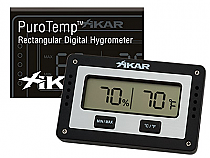 Digital hygrometer rect. (2951